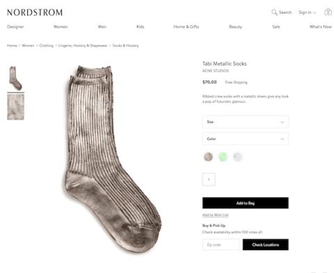 20 ezerért árulják a gyárilag koszos zoknit