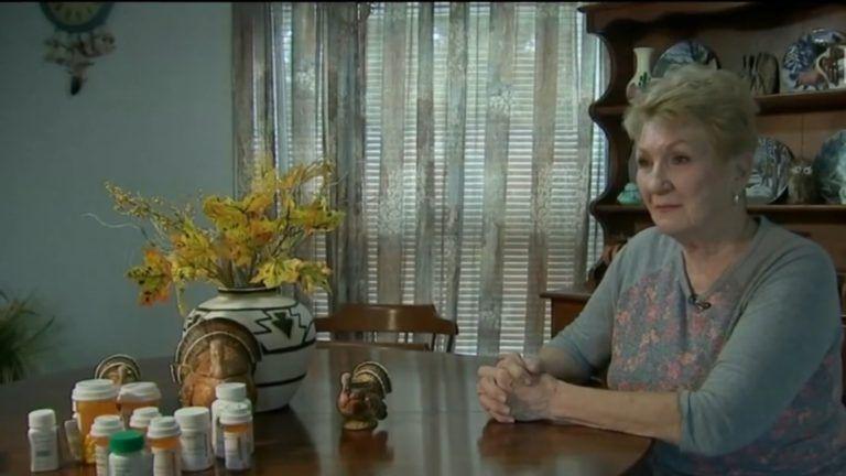 A halott nő (Forrás: TV2)