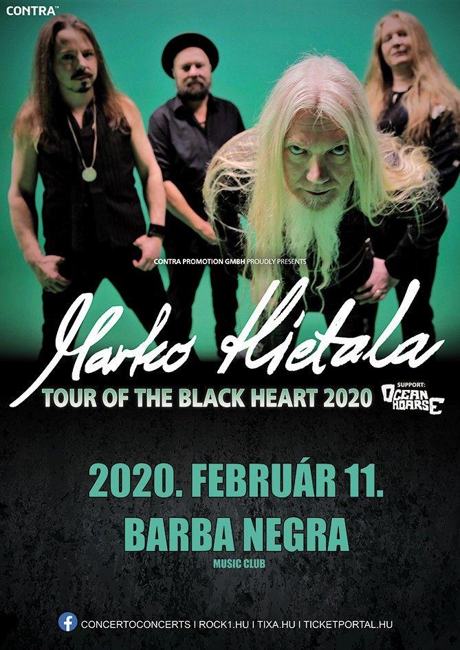 Marko Hietala: szólólemezével koncertezik Budapesten a Nightwish basszerosa
