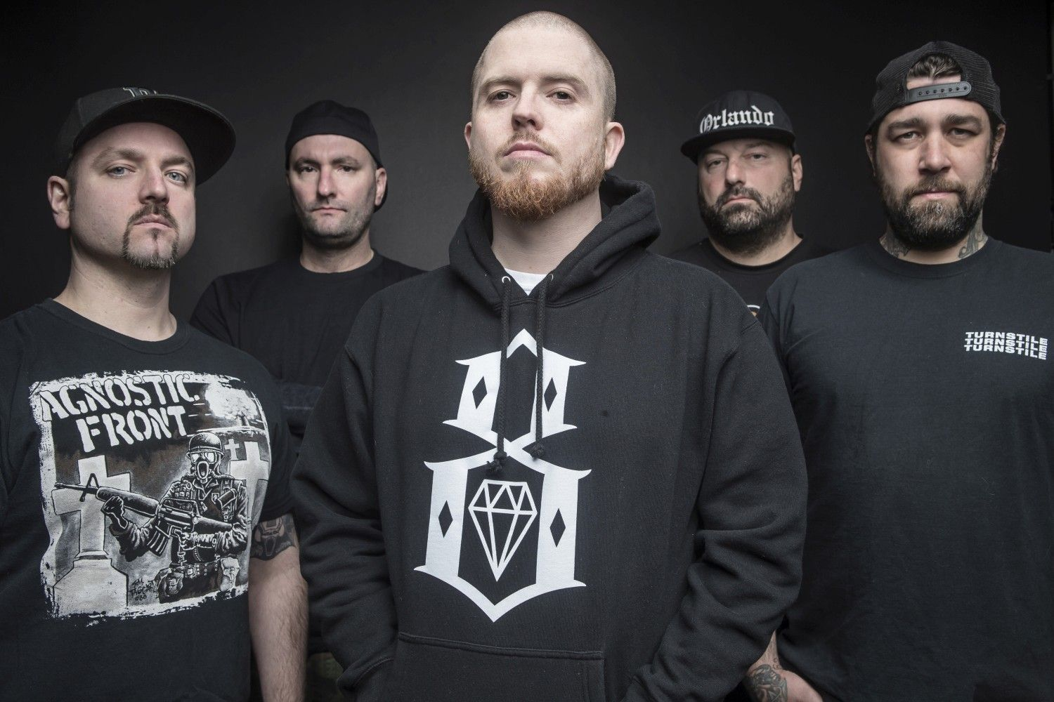 A Hatebreed is fellép a Parkway Drive előtt