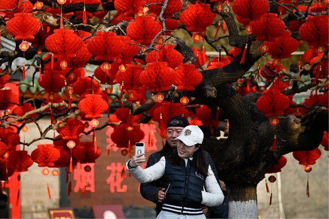 Holdújév Kínában