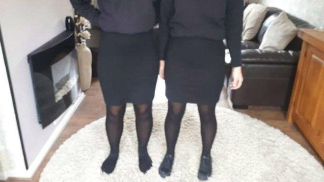 Testalkatuk miatt büntették a tinilányokat az iskolában