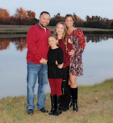 A Lee család (Fotó: SWNS)