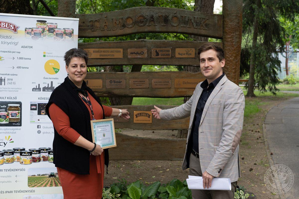 Újabb nagylelkű főszponzort köszönthet támogatói körében a Debreceni Állatkert!