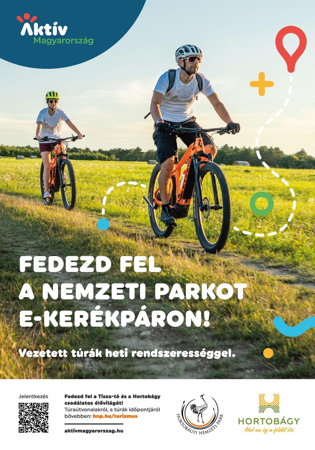 Indul a nyári e-bike szezon Hortobágyon és a Tisza-tónál