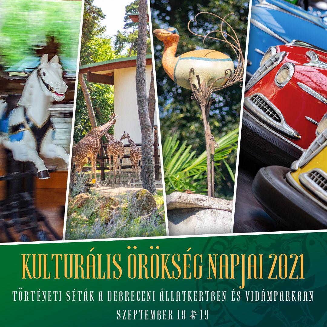 Örökségnapi séták a Debreceni Állatkertben és Vidámparkban!