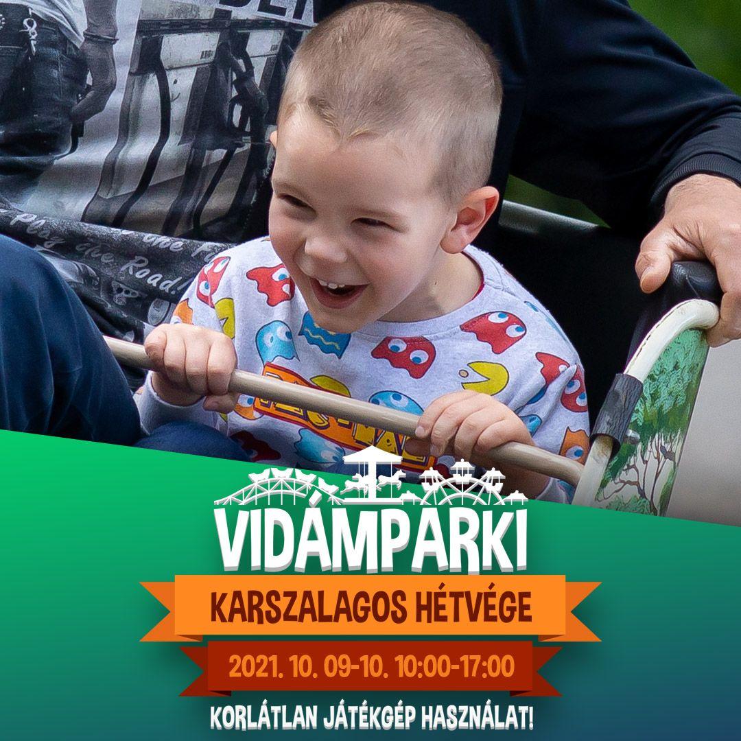 Az év utolsó egész napos korlátlan élményeivel vár a Debreceni Vidámpark!